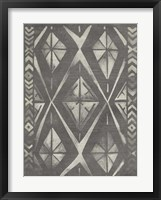 Mudcloth Patterns I Framed Print