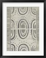 Framed Mudcloth Patterns VI