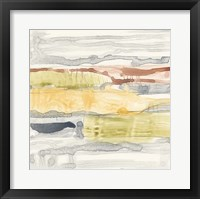 Tiered Layers II Framed Print