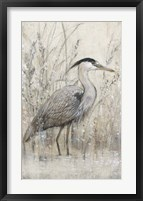 Hunt in Shallow Waters I Framed Print
