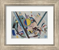Framed Multicolored Circle, 1921