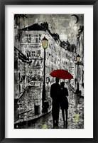 Framed Rainy Promenade