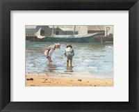 Framed Boys Wading, 1873