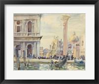 Framed Piazzetta, c. 1911