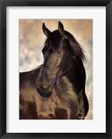 Framed TBD (black horse)