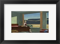 Framed Western Motel, 1957