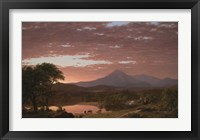 Framed Mt. Ktaadn, 1853