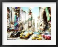 Framed Times Square Multiexposure I