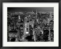 Framed Midtown Manhattan at Night 2