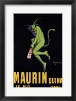 Framed Maurin Quina, ca. 1906