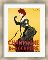Framed Champagne de Rochegre;, ca. 1902