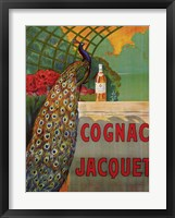 Framed Cognac Jacquet, ca. 1930