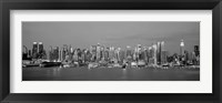 Framed Manhattan Skyline, NYC