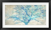 Framed Turquoise Tree