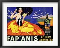 Framed Fap'  Anis, ca. 1920-1930