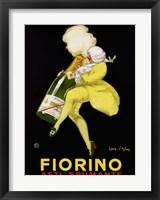 Framed Fiorino Asti Spumante, 1922