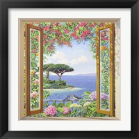 Framed Sulla costa Mediterranea