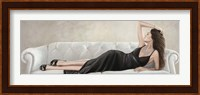 Framed Lady Reclined