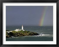 Framed Rainbow over Fanad-Head, Ireland