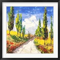Framed Strada Toscana