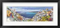 Framed Santorini