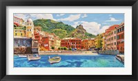 Framed Vernazza nel Sole