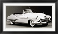 Framed Buick Roadmaster Convertible