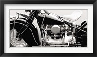 Framed Vintage American Bike