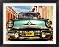Framed Vintage American Car in Habana, Cuba