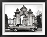 Framed Vintage Sports Car 1