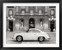 Framed Vintage Sports Car 2
