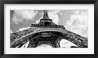 Framed Eiffel Tower in Spring
