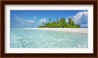 Framed Palm Island, Maldives