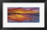 Framed Sunset, North Island, New Zealand