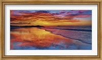 Framed Sunset, North Island, New Zealand