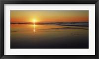 Framed Sunset Impression, Taranaki, New Zealand