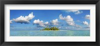 Framed South Male Atoll, Maldives