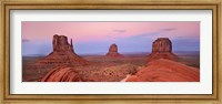 Framed Mittens in Monument Valley, Arizona