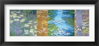 Framed Waterlilies II