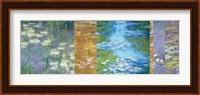Framed Waterlilies II