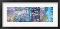 Framed Waterlilies I