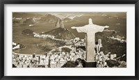 Framed Overlooking Rio de Janeiro, Brazil