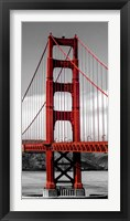 Framed Golden Gate Bridge II, San Francisco