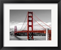 Framed Golden Gate Bridge, San Francisco