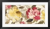 Framed Velvet Flowers