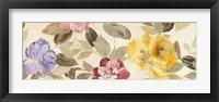 Framed Velvet Flowers Parade