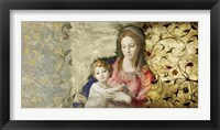 Framed Virgin Mary (after Bronzino)
