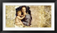 Framed Madonna del Candelabro (after Raffaello)
