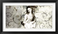 Framed Madonna and Child (after Van Dyck)