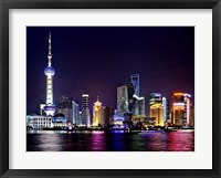 Framed Shanghai at Night